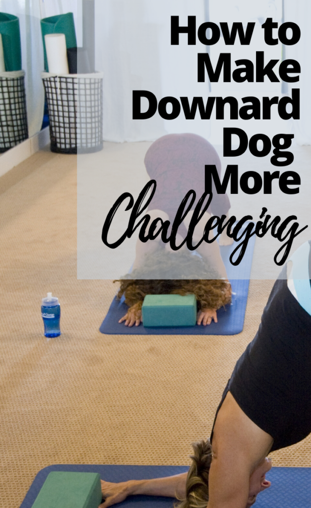 Everything you need to know about downward dog. Avoid Common mistakes in downward dog. Learn how to make downward dog easier for beginners. Plus learn how to make it more challenging for more seasoned yogis.